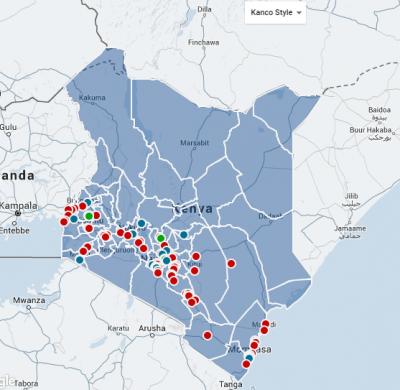Map of Kanco Members