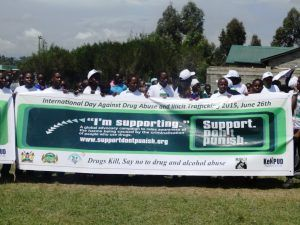 Harm Reduction Launch in Nyandarua